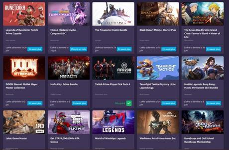 Le lot de jeux gratuits avec Twitch Amazon Prime pour fin mai 2020