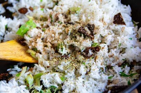 Esprit grec – Chou pointu farci au riz