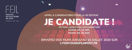 Appel à films Festival du Film Jeune de Lyon