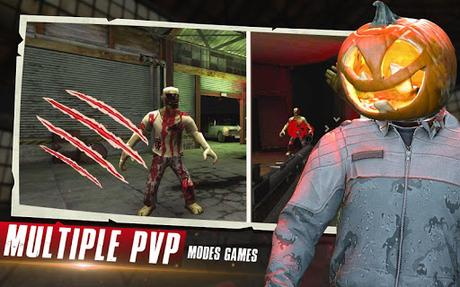 Code Triche Zombies Halloween Survival 2019 : New Zombie Games APK MOD (Astuce) 3