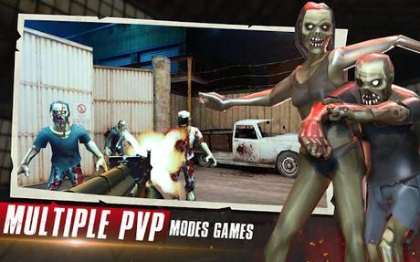 Code Triche Zombies Halloween Survival 2019 : New Zombie Games APK MOD (Astuce) 5