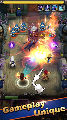 Télécharger Hyper Heroes: Marble-Like RPG APK MOD (Astuce) 1