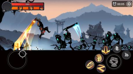 Télécharger Gratuit Stickman Master: League Of Shadow - Ninja Legends APK MOD (Astuce) 3