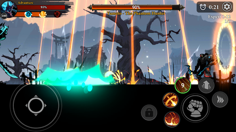 Télécharger Gratuit Stickman Master: League Of Shadow - Ninja Legends APK MOD (Astuce) 5