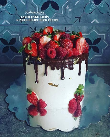 Layer Cake Fruité