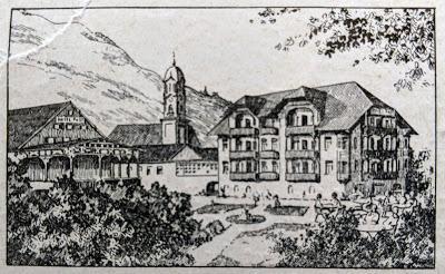 Werbungseite für Mittenwald - April 1928