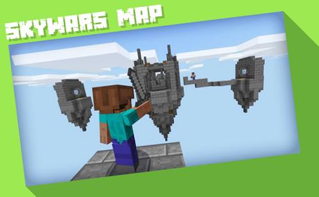 Télécharger Gratuit Skywars Maps  APK MOD (Astuce) 2