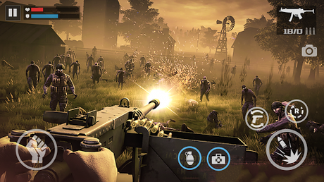 Code Triche Zombie Shooter-Dead Warfare APK MOD (Astuce) 5