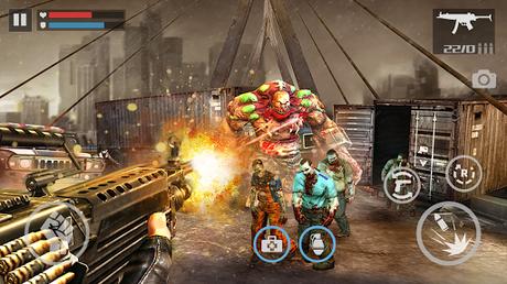 Code Triche Zombie Shooter-Dead Warfare APK MOD (Astuce) 2