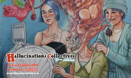 Festival Hallucinations Collectives du 7 au 13 juillet 2020 au Cinéma Comoedia