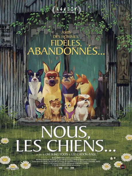 NOUS, LES CHIENS... film d'animation au Cinéma le 29 Avril