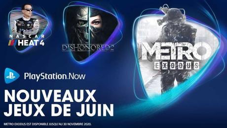 Les jeux PlayStation Now de Juin 2020