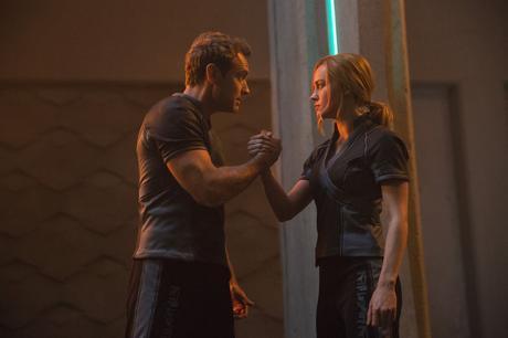Captain Marvel : Photo Brie Larson, Jude Law
