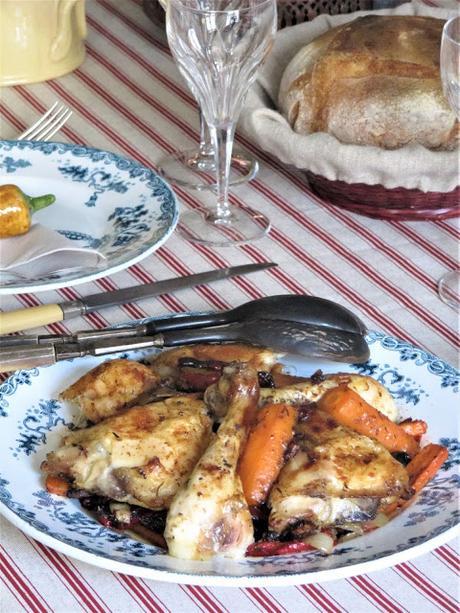 Cuisses de poulet au paprika au four