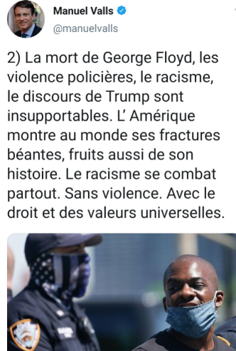 #violencespolicieres et #racisme : aux USA comme en fRance, un fléau systémique. Les antifas responsables ?