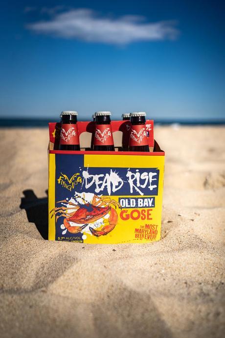 Craft beer – La bière Old Bay, la «Dead Rise» de Flying Dog Brewery, est de retour avec un nouveau look et une nouvelle recette  – Bière brune