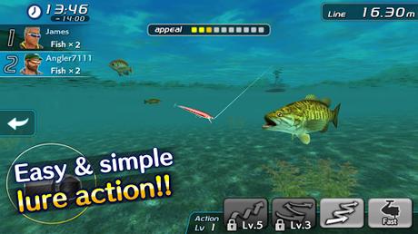 Télécharger Bass Fishing 3D II APK MOD (Astuce) screenshots 5