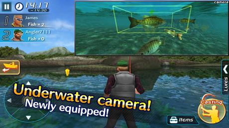 Télécharger Bass Fishing 3D II APK MOD (Astuce) screenshots 3