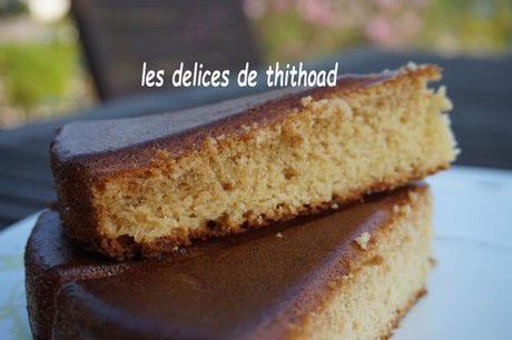 Gâteau à la confiture de noix de coco