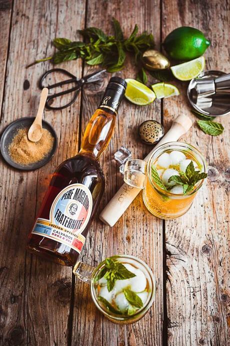 Cocktail Père Magloire : Apple Mojito