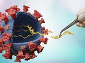 COVID-19 CRISP PAC-MAN embrouillent code coronavirus