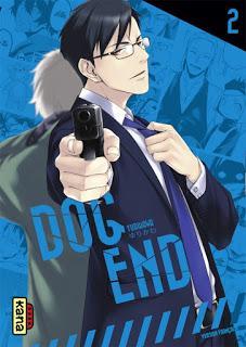 [7BD] Dog End tome 2 - couverture du manga