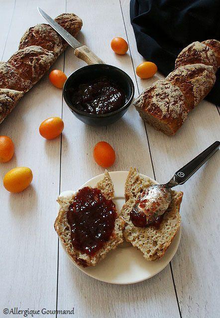 Baguettes en épis au levain sans gluten