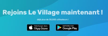 Nouveauté : L'app Book Village