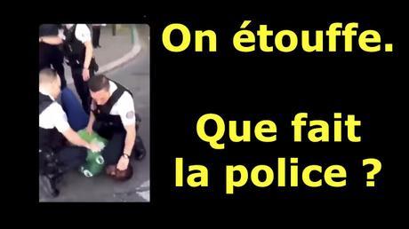 On étouffe - que fait la police ? #racisme #violences