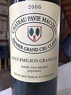 WE tranquille mais avec un beau Pavie Macquin et un Pinot Rocailles de compétition