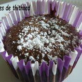 moelleux coulant au chocolat et caramel - Le blog de lesdelicesdethithoad
