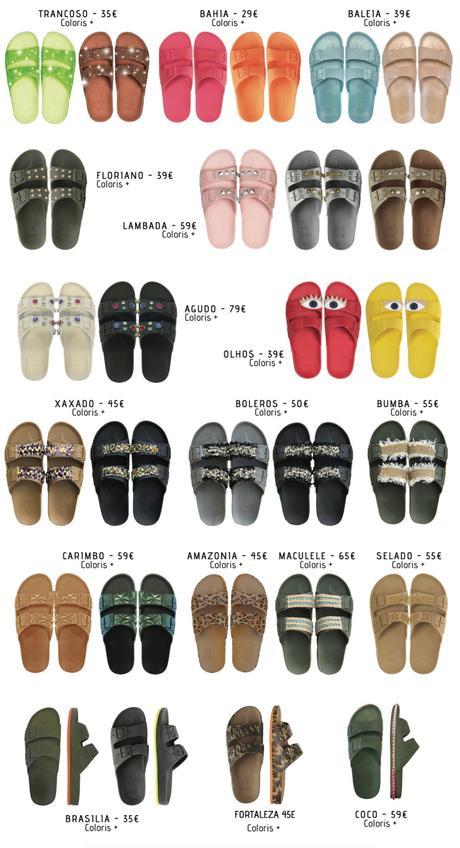ÉTÉ : Les Sandales Brésiliennes CACATOES