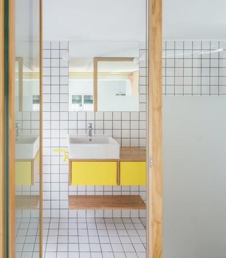 Visite d un 32m2 au coeur de Madrid appartement studio salle de bain - blog déco - clemaroundthecorner