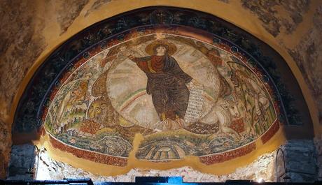 425-50 Monastere de Latomou eglise hosios david Thessalonique