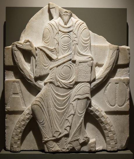 Chrst en majeste XIIeme siecle Musee Fenaille Rodez
