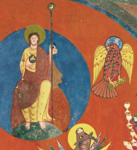 Beatus de saint Sever 1050 ca fol 121v 122r Artiste A MS Lat.8878 BNF gallica detail
