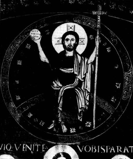 Tavola del Giudizio Universale da San Gregorio Nazianzieno, 1061-1071 Pinacoteca Vaticana detail