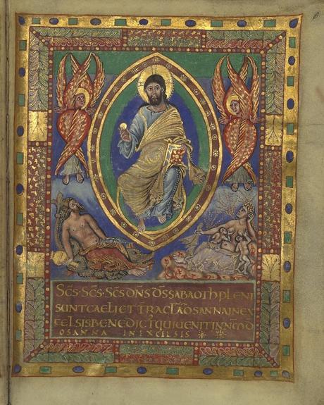 Sacramentaire de Charles le Chauve, vers 869-870, BnF, Manuscrits, Latin 1141 fol. 6r gallica