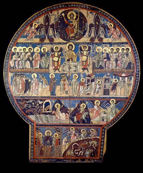 Tavola del Giudizio Universale da San Gregorio Nazianzieno, 1061-1071 Pinacoteca Vaticana