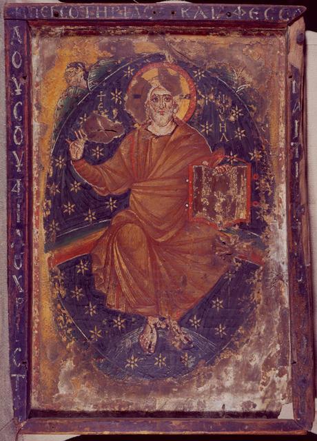 Christ Ancien des Jours 7eme siecle Monastere Ste Catherine Sinai
