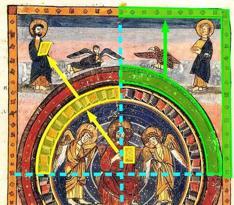 Maiestas Domini Codex Amiatinus 692-716 (fol. 796v), Firenze, Biblioteca Medicea quarts