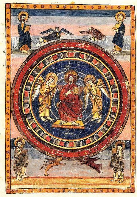 Maiestas Domini Codex Amiatinus 692-716 (fol. 796v), Firenze, Biblioteca Medicea