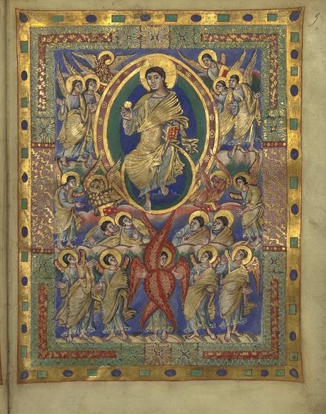 Sacramentaire de Charles le Chauve, vers 869-870, BnF, Manuscrits, Latin 1141 fol. 5r gallica