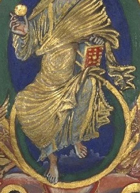 Sacramentaire de Charles le Chauve, vers 869-870, BnF, Manuscrits, Latin 1141 fol. 5r gallica detail