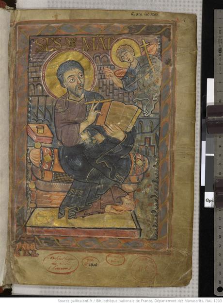 Evangeliarium de_Charlemagne_ou_de_Godescalc 781-83 BNF Lat 1203 fol 3r Gallica