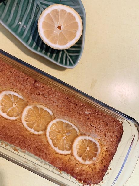 cake citron lemon limon eat bake gateau curcuma turmeric food