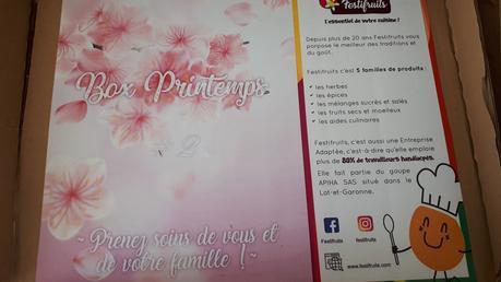 Box Printemps Festifruits