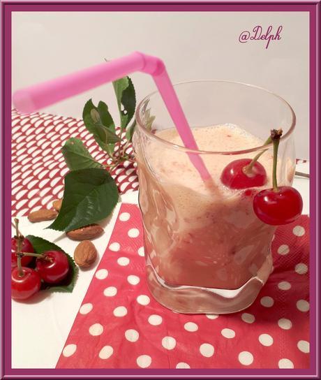 Milkshake cerises