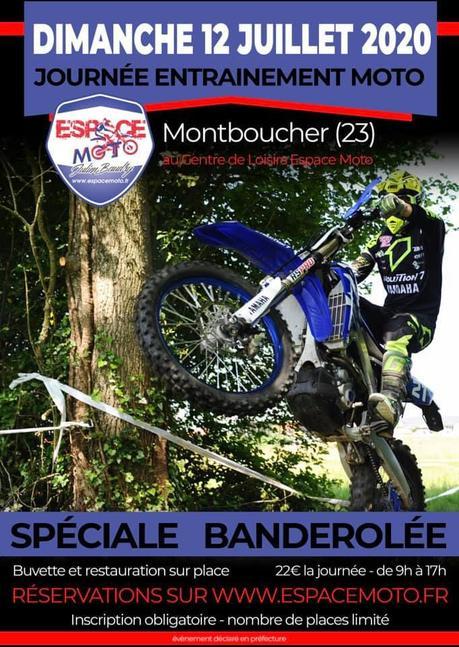 Journée entrainement moto avec Espace Moto à Montboucher (23) le 12 juillet 2020