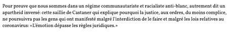 ielles illustrent à merveille le privilège blanc (Petit concentré de poison identitaire) #GeorgesFloyd #racismedanslapolice